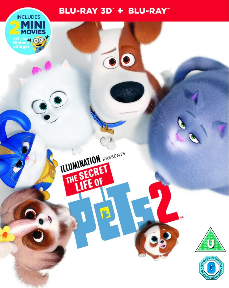 Secret life of Pets 2 Blue Ray
