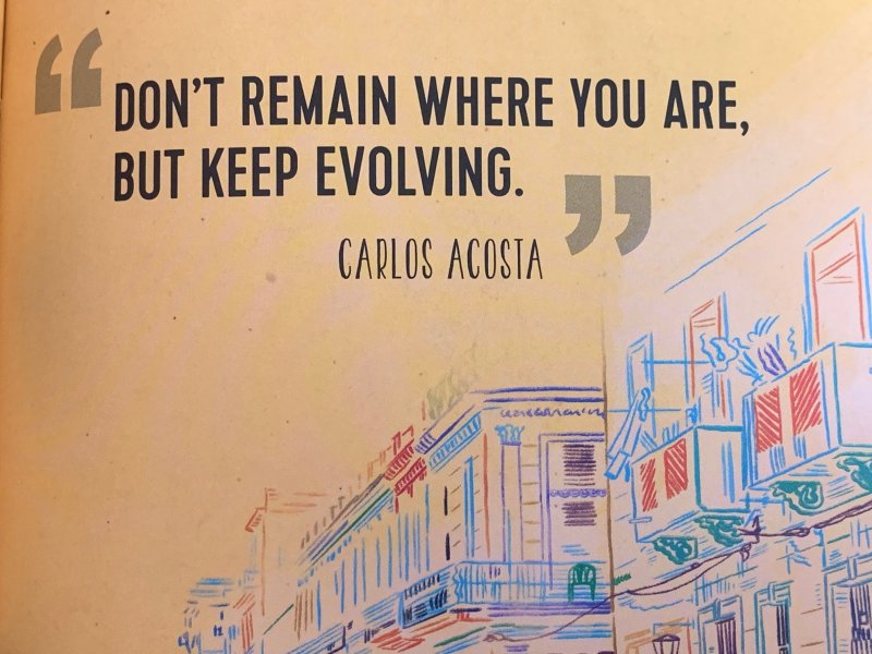 Carlos Acosta Quote imagery