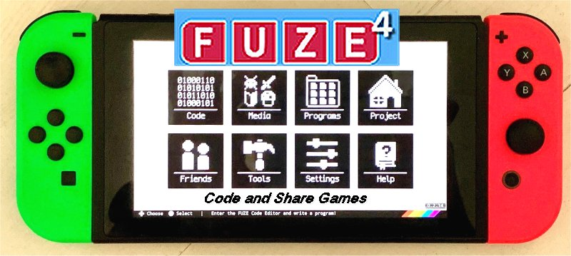 FUZE4 NINTENDO SWITCH Code and Share Games