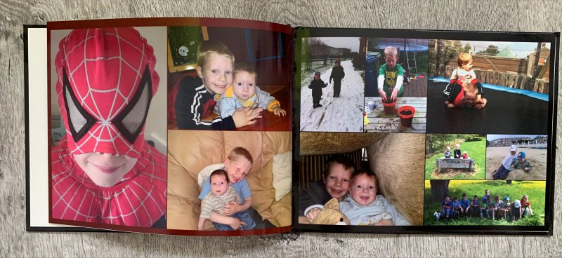ASDA Photo memory book