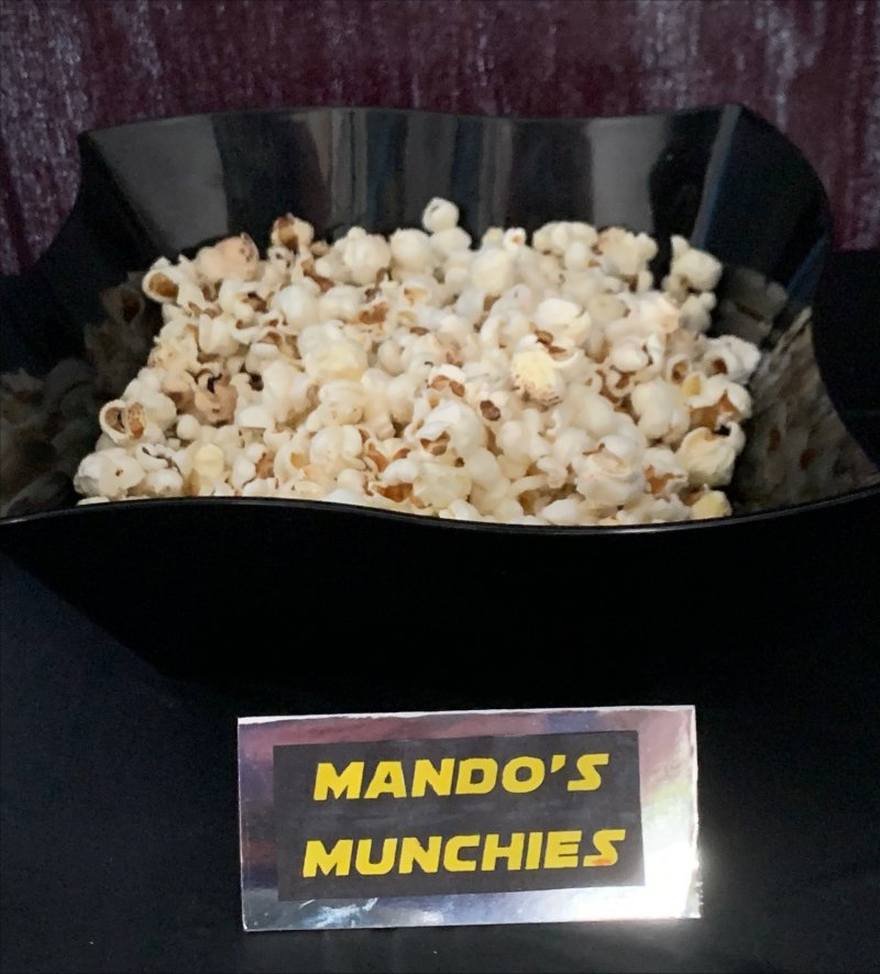Mando's Munchies Star Wars Party Food ideas and related names