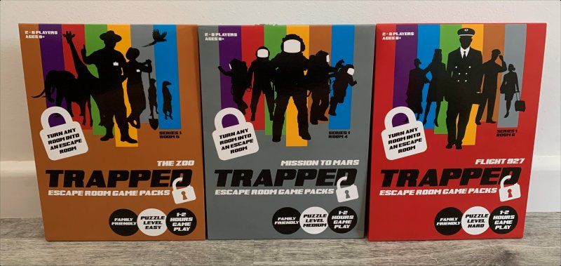 New Trapped Escape Room Games with different levels of difficulty