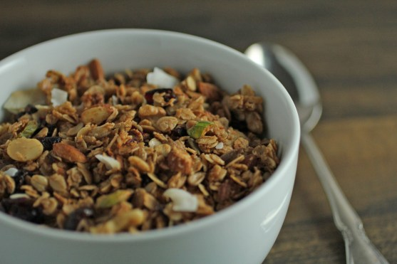 cinnamon honey granola