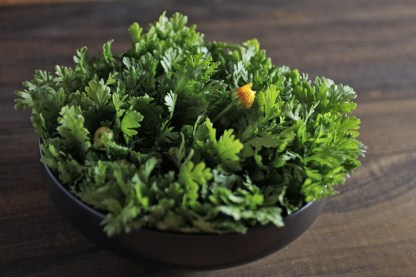 chrysanthemum greens