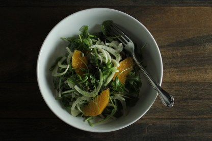 arugula fennel orange salad