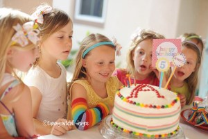 RAINBOW PARTIES: ART PARTIES: GIRL PARTIES: Somewhere over the Rainbow Party