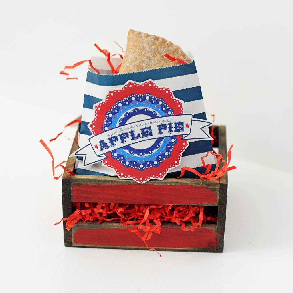 as american as apple pie free printable 4th of july patriotic printables Pink Peppermint Design