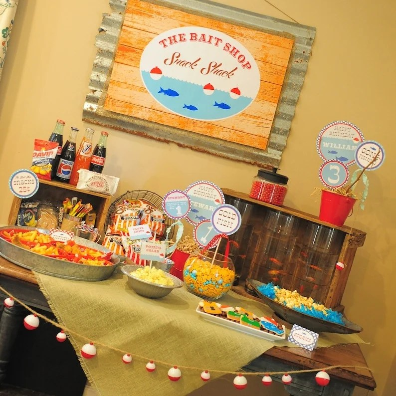 Gone Fishing Party by Lauren Haddox Designs