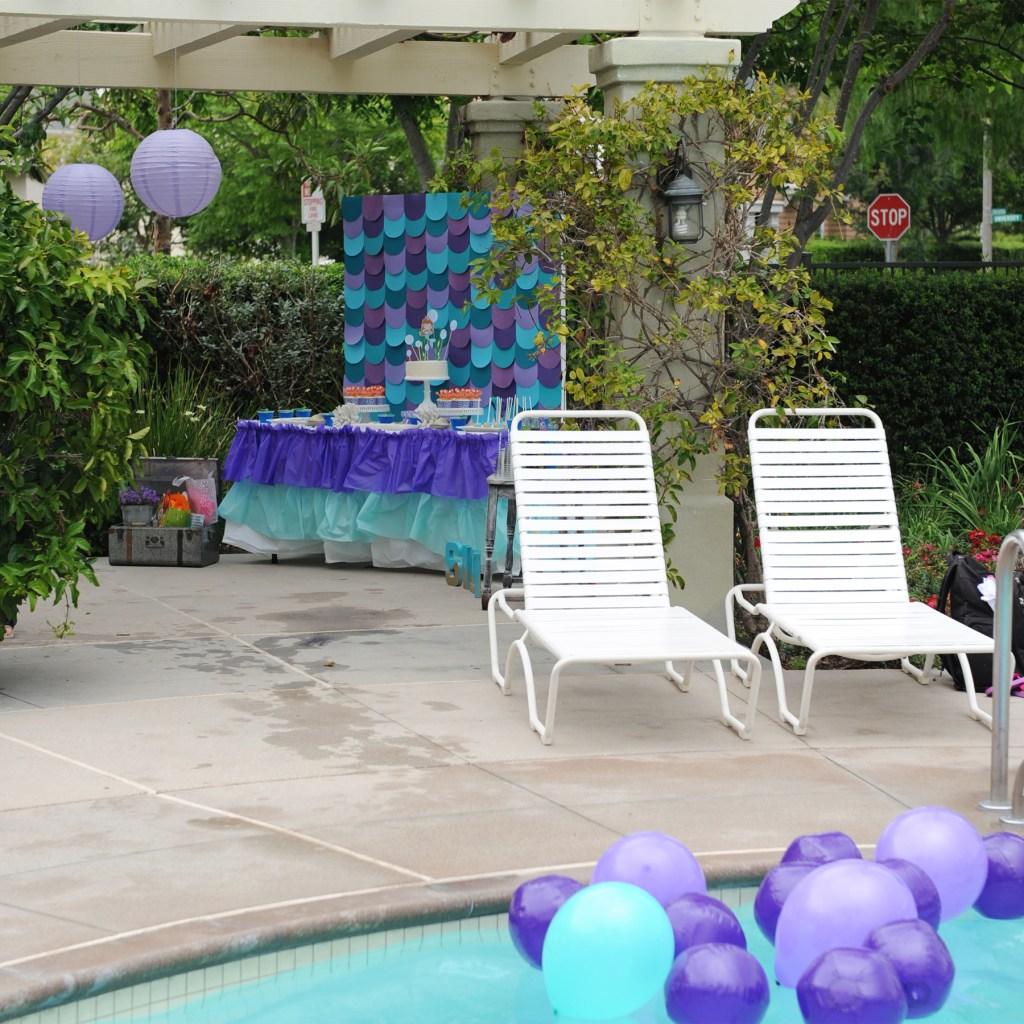 mermaid pool party ideas