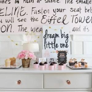 Pink Baby Shower Ideas
