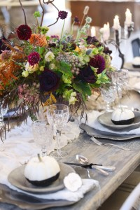 Entertain: 'Til Death– A Sophisticated Halloween Inspired Wedding