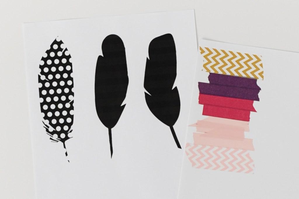 washi feathers 6