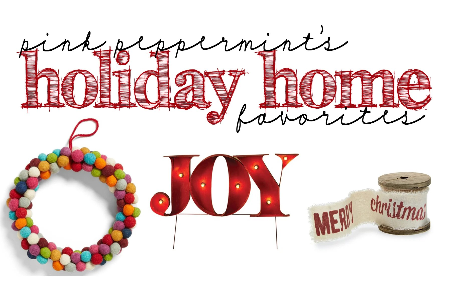 Pink Peppermint's Picks: Holiday Must Haves with Nordstrom Home