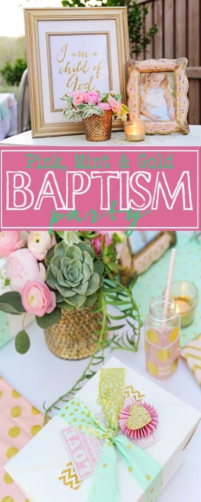 baptism party ideas