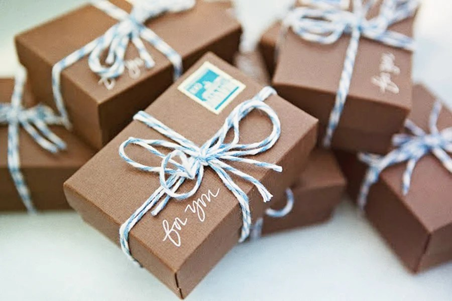 Brown Paper Packages Tied Up With String–These are a few of My Favorite Things