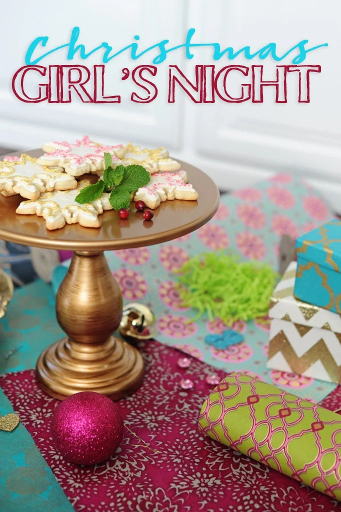 Christmas Girl's Night Party Ideas