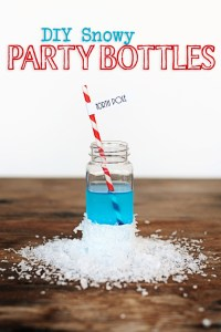 Kids christmas party bottles