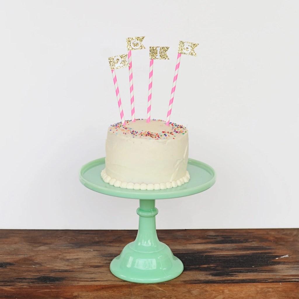 confetti cake DIY