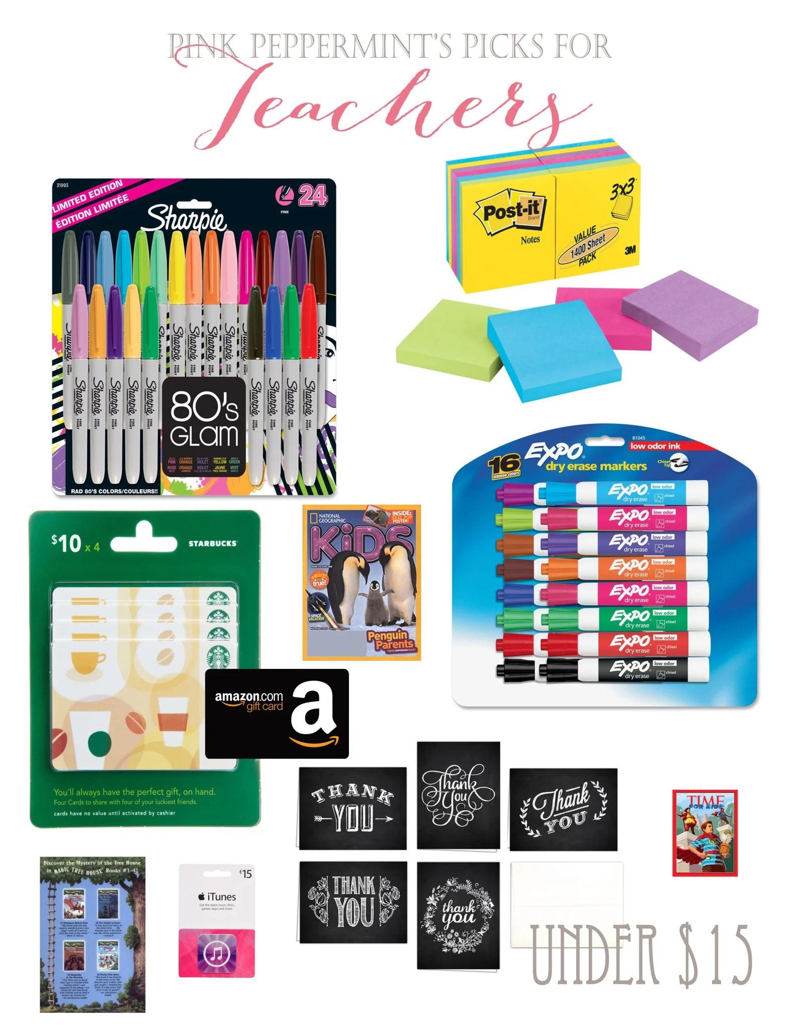 Teacher Gift Ideas : Gifts Teachers really want