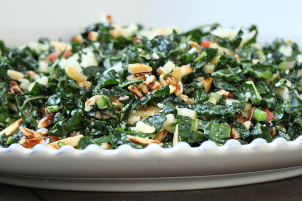 Recipe: Jenny's Kale and Apple Salad