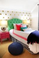 Tween Girl Bedroom Preppy Design / Decor Ideas Pink, Navy ...