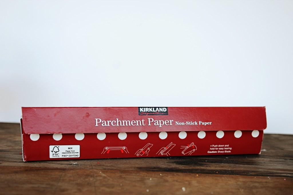 cake pan parchment