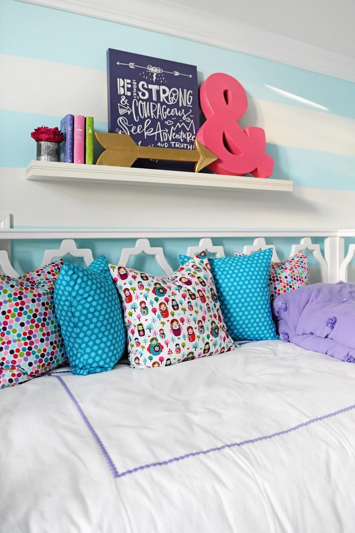 Interior Design Tween Girl Bedroom Design Purple And Turquoise Pink Peppermint Design