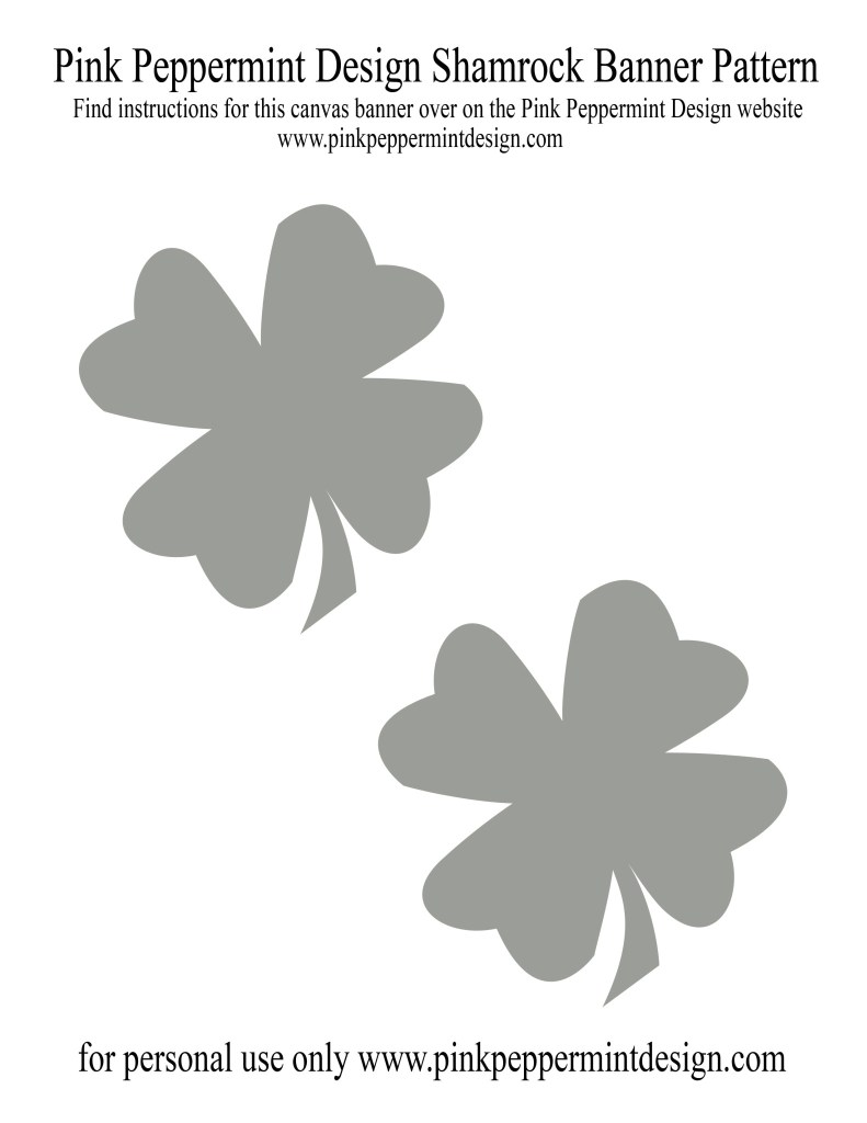 Shamrock Canvas Banner