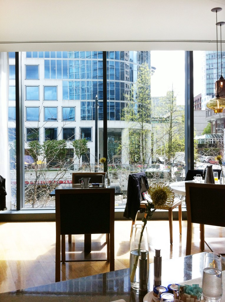fairmont pacific rim restaurant