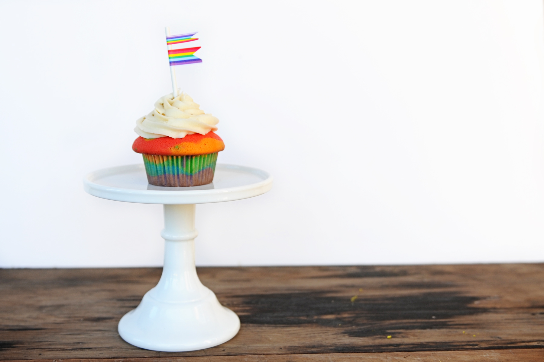 Sweets: Rainbow Cake, a Second Way!
