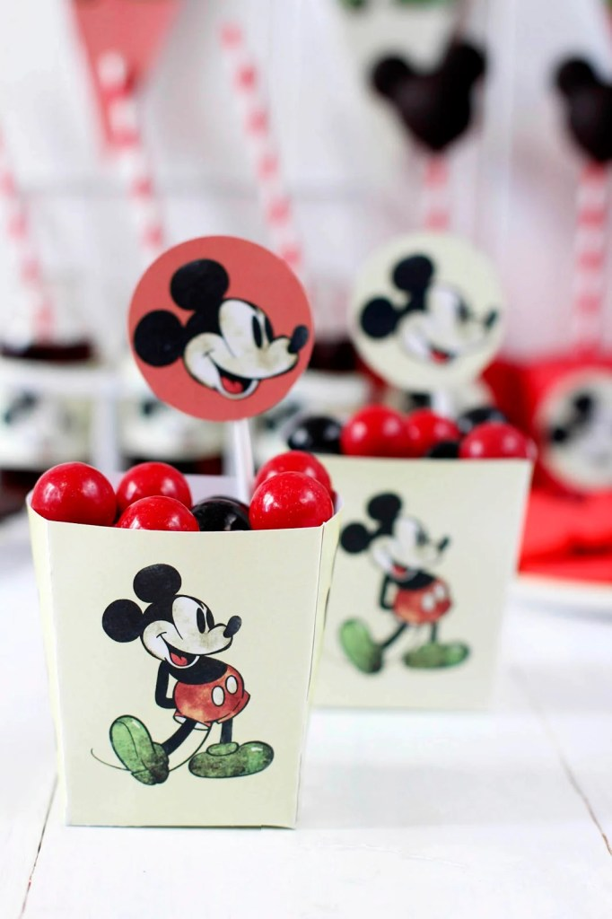Mickey Mouse Party Ideas for One Year Old