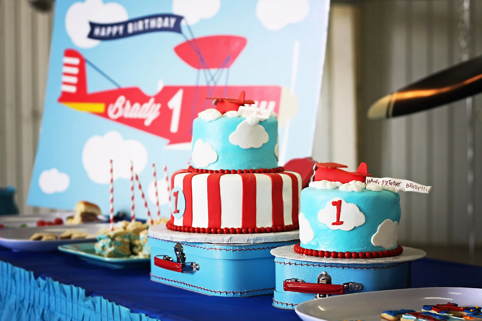 Ready for Take-off: Airplane Themed Party