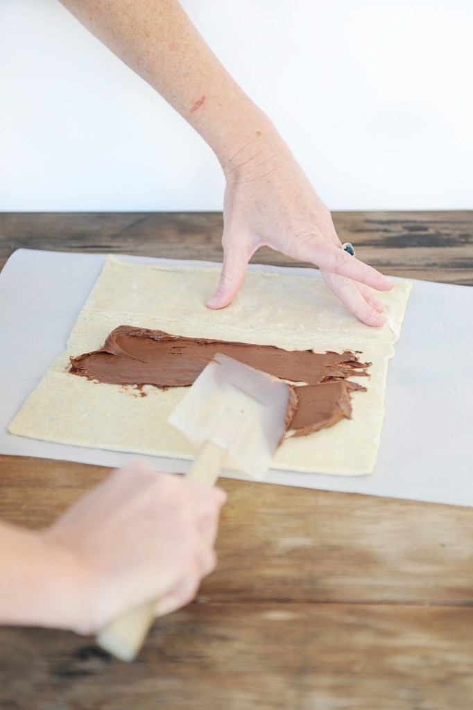 nutella puff pastry 2