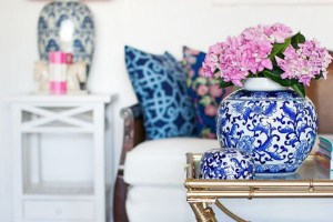 Pink and Navy in Design