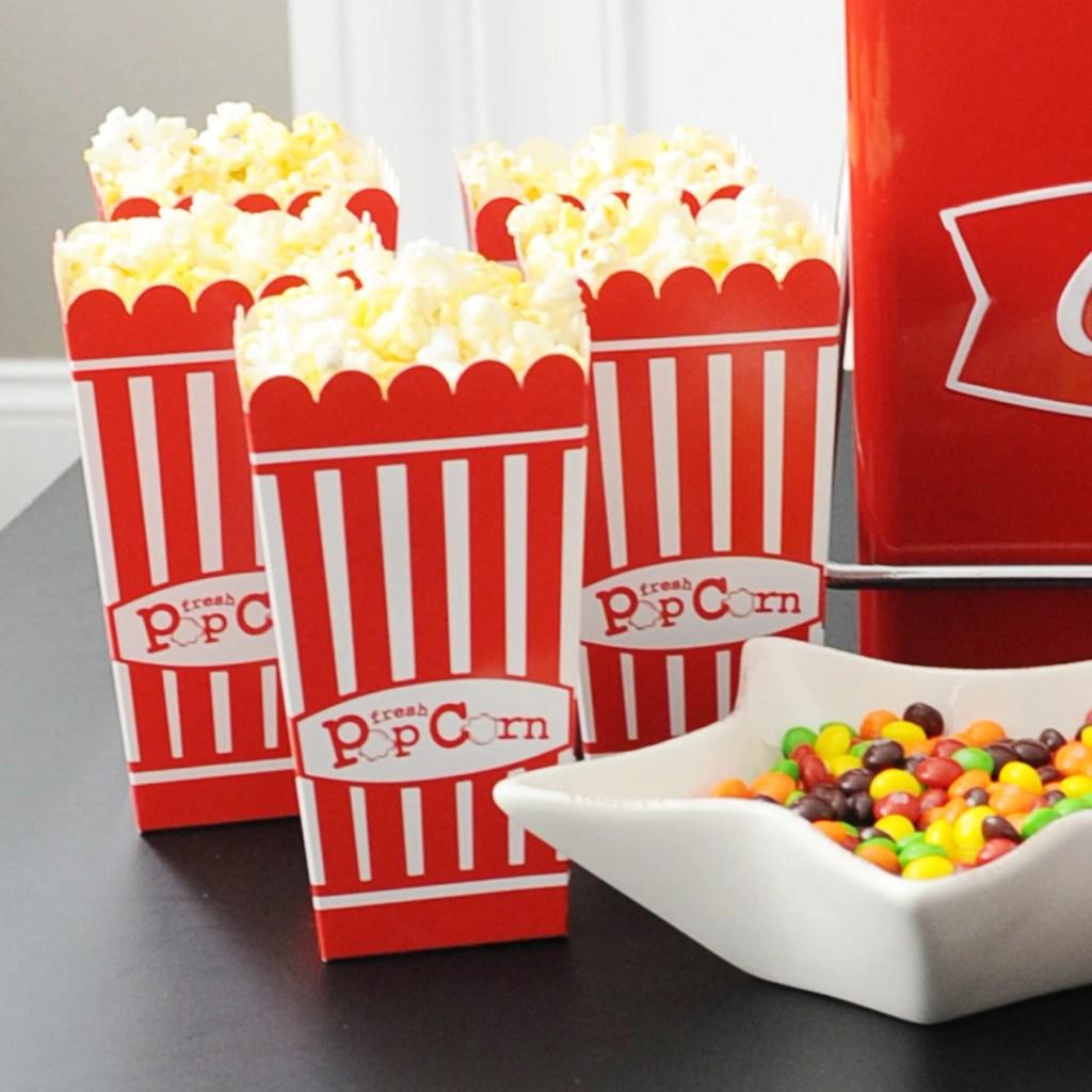 easy movie night party ideas