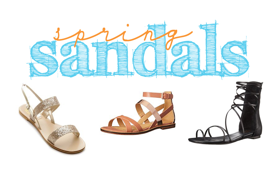 My Favorite Spring Sandals