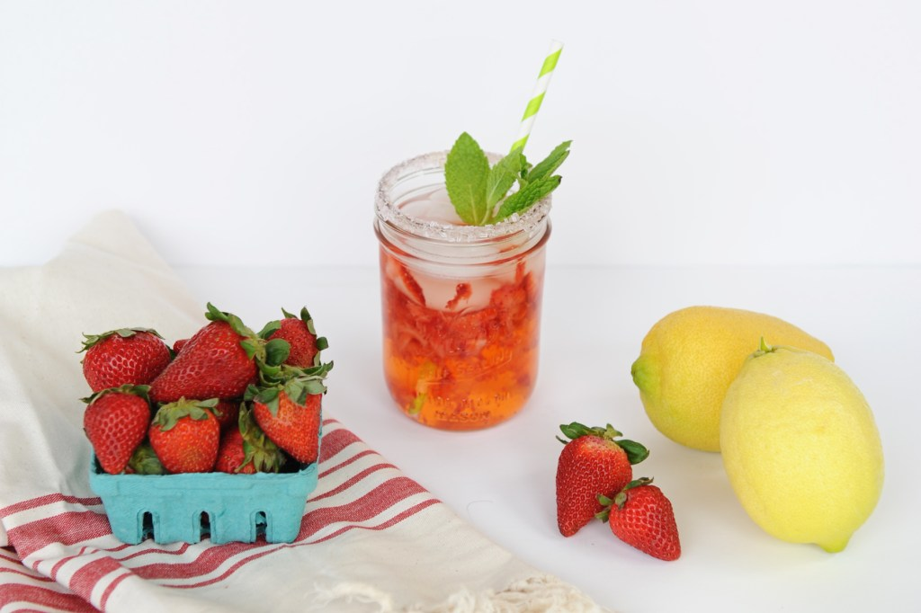 perfect strawberry lemonade recipe