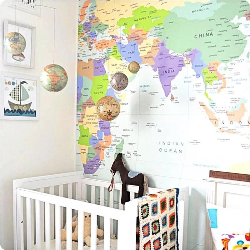 maps in decor
