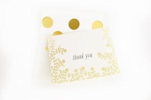 Polka dot envelope