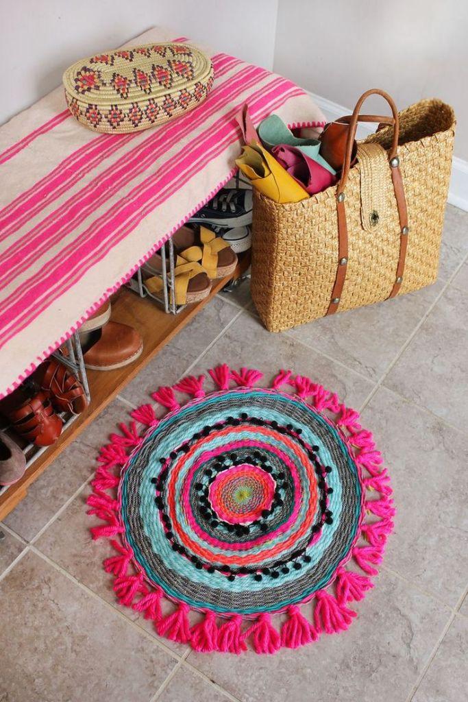 interior design fringed accessories in decor