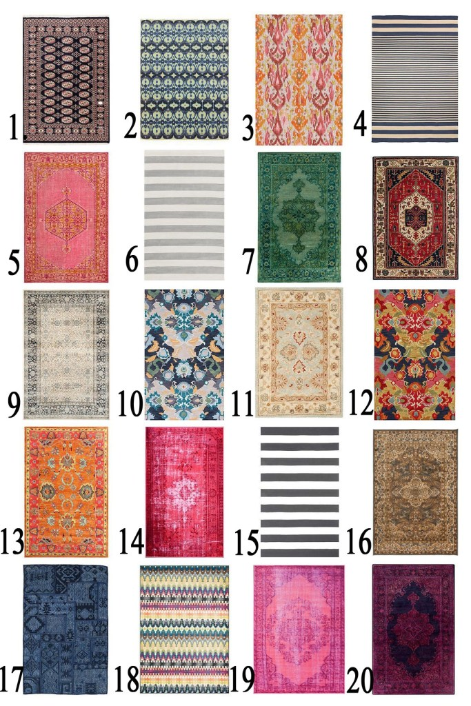 Rugs Collage with numbers copy