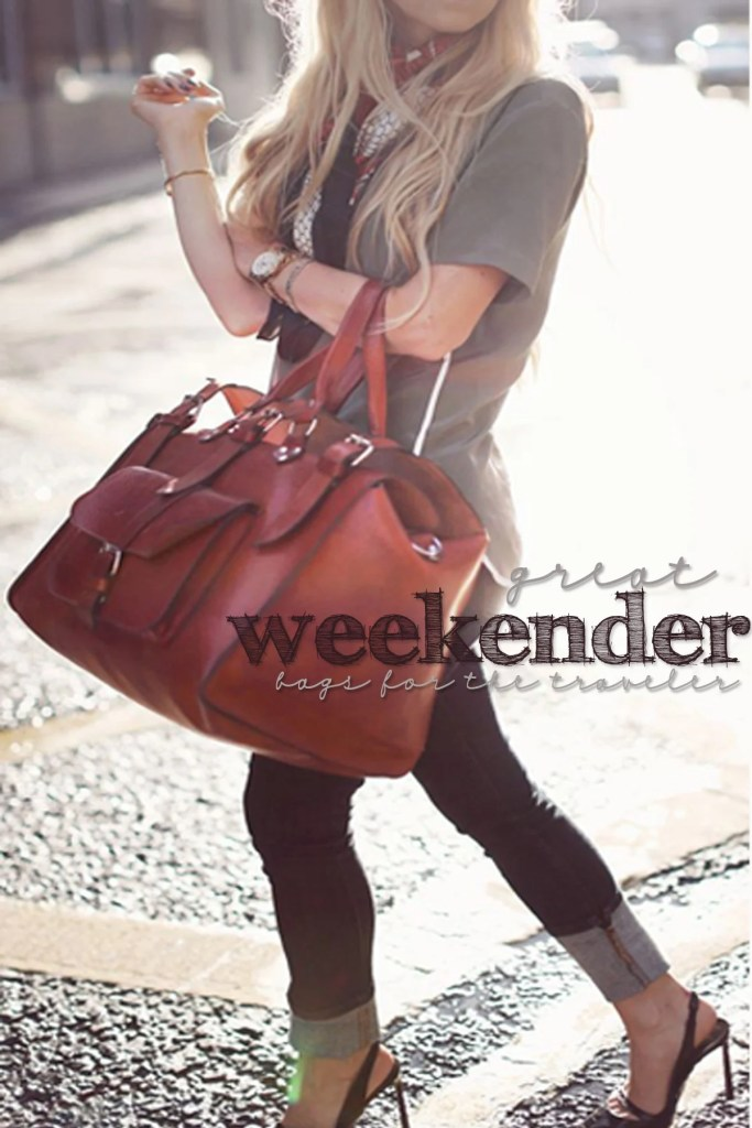 great weekender bags for travelers gift ideas for christmas