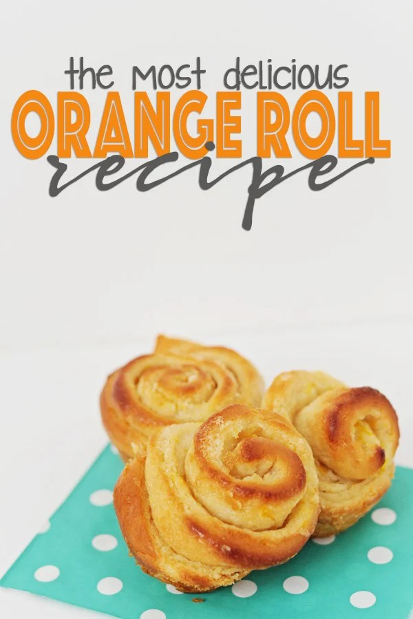Orange roll recipe copy