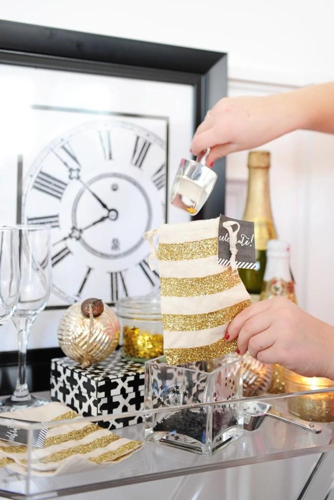 new years confetti buffet confetti bar cute ideas for new years eve wedding confetti ideas