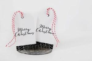 Free Merry Christmas Printable Tags