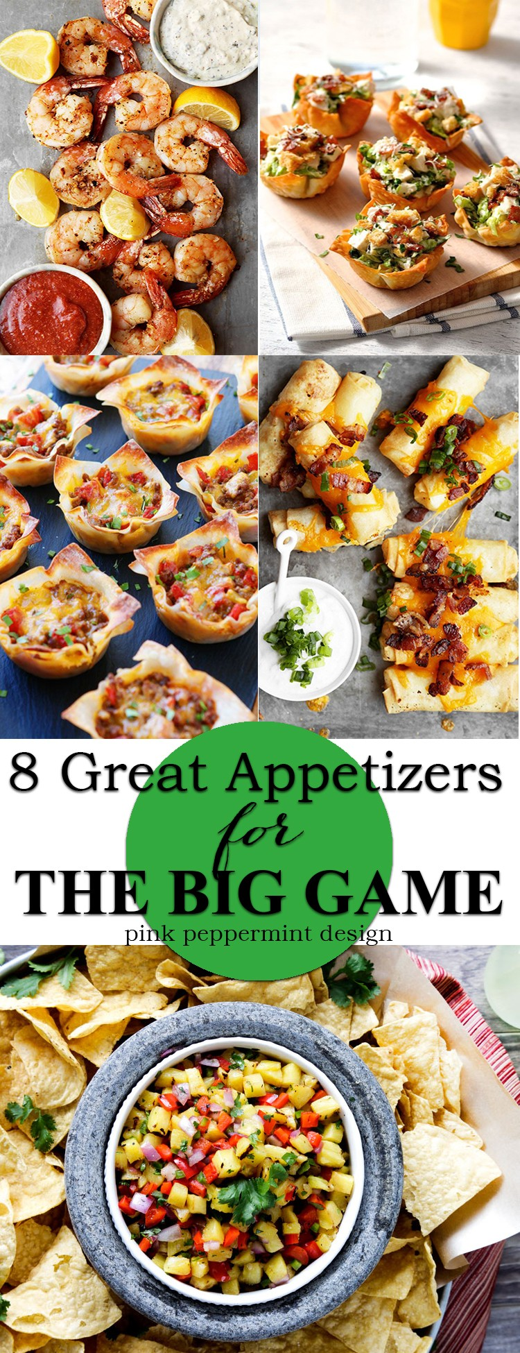 Football Appetizer Recipes by Tammy Mitchell