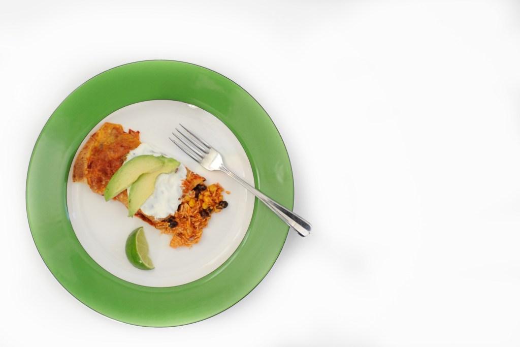 easy healthy chicken enchiladas