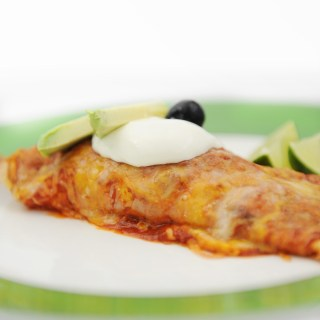 easy healthy chicken enchiladas