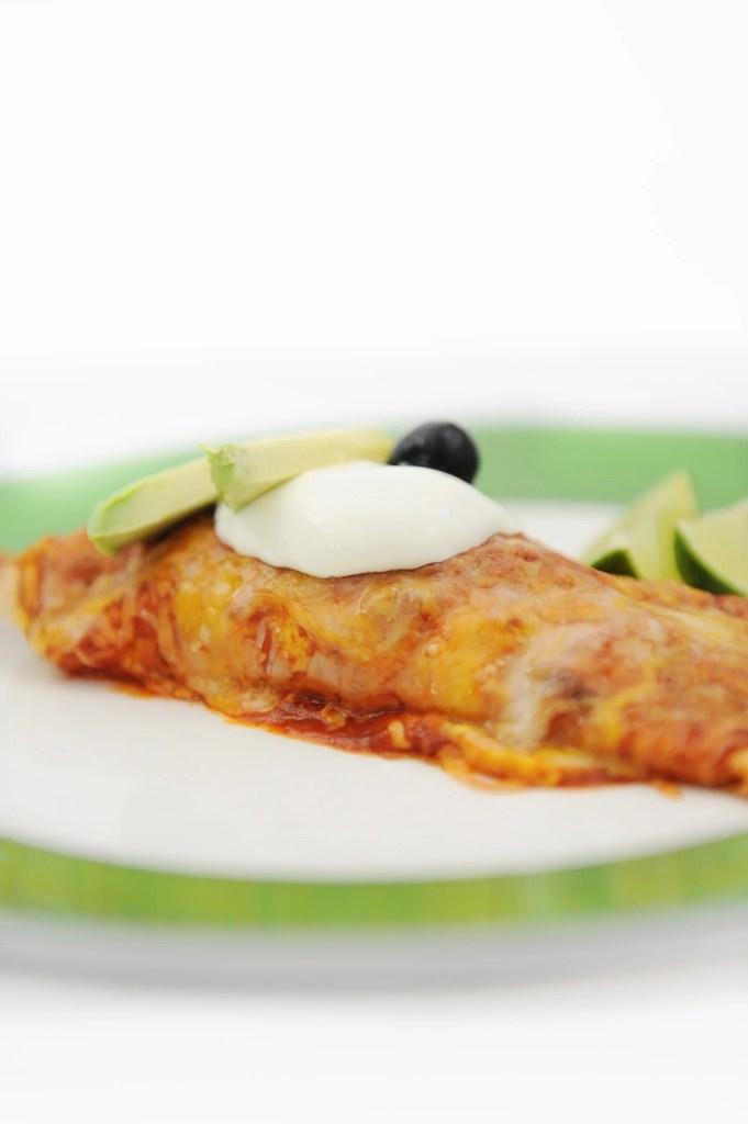 easy healthy chicken enchiladas recipe