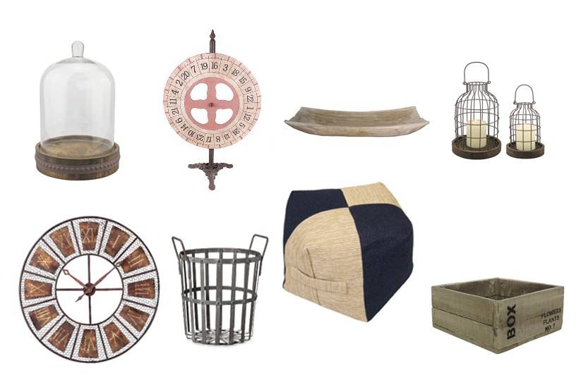 The Target Industrial Collection: Farmhouse Industrial Style